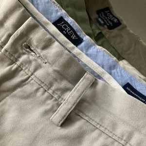 2 pair of 34x32 J. Crew khakis for $20